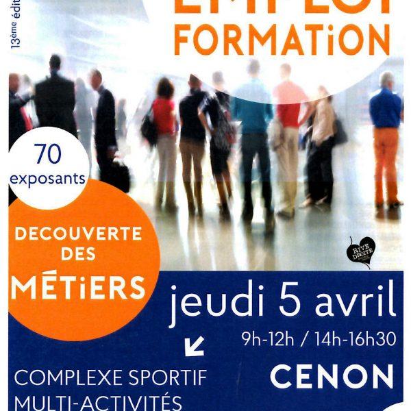 Forum emploi Cenon creation dentreprise diversite mixite emploi